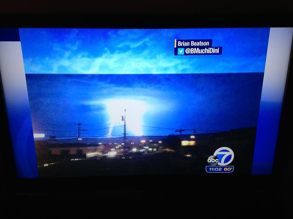 Lighting Strikes in San Francisco